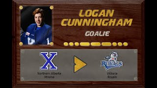 Logan Cunningham - CSSHL to WHL Draft | Stand Out Sports Client Hall of Fame