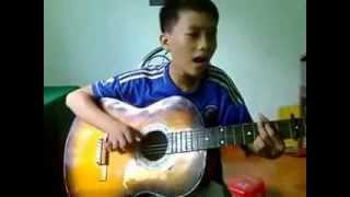 Guitar cover   Dấu mưa   Trung Quân Idol   By Sĩ Thắng