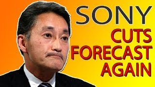 Sony Cuts Forecasts AGAIN - Investors React