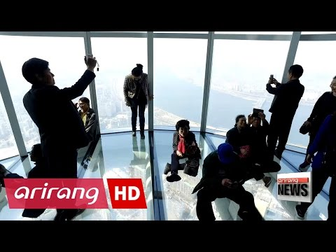 World's fifth-tallest building Lotte World Tower holds grand opening