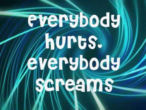 Avril Lavigne- Everybody Hurts Lyrics