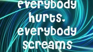 Avril Lavigne- Everybody Hurts Lyrics