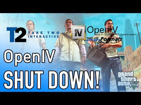 The END of GTA 5 Mods?? Take-Two Interactive Shuts Down OpenIV (Reaction and Analysis)