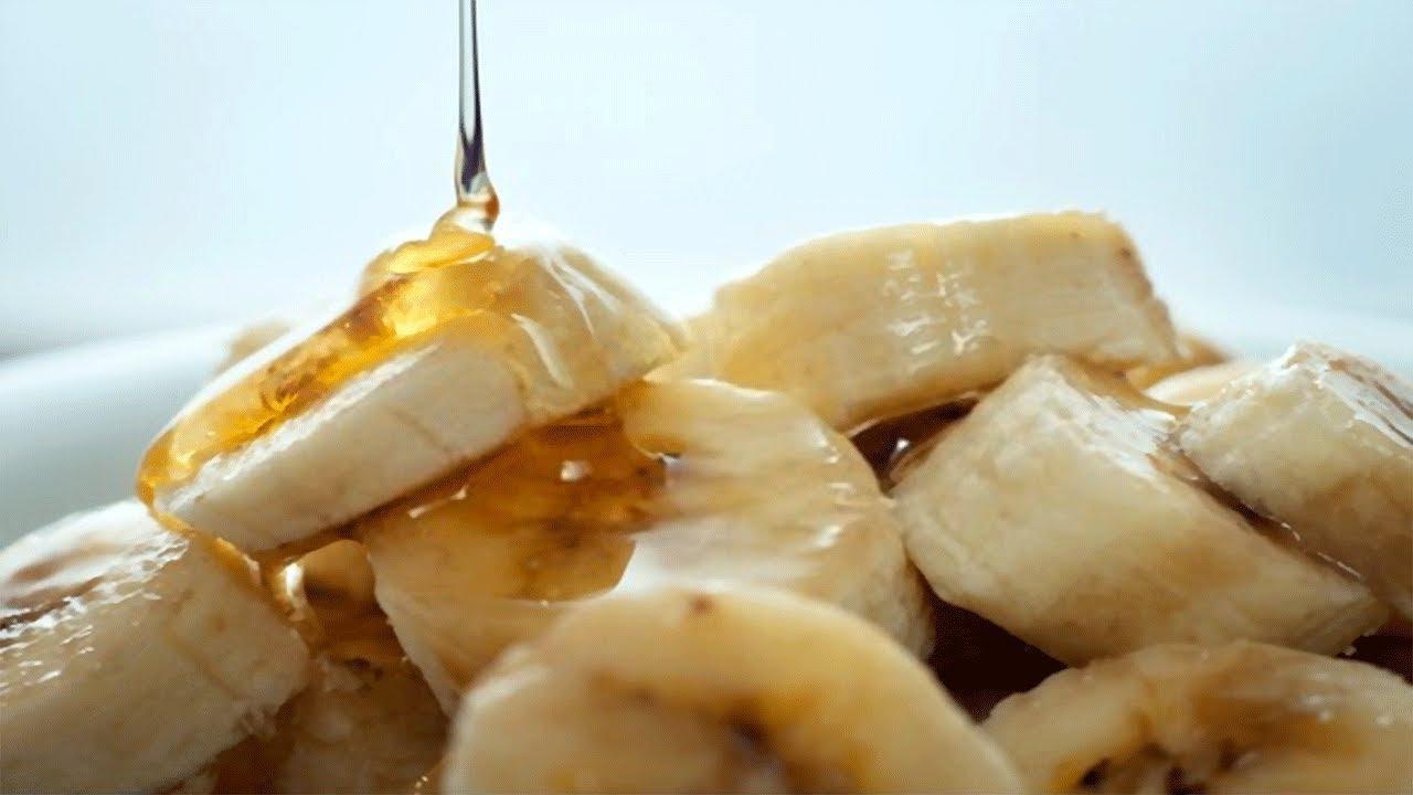 Banana, acqua e miele uno straordinario rimedio contro tosse e bronchite!