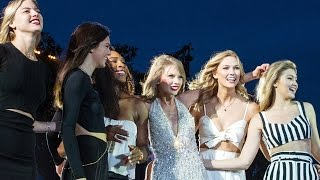 """Taylor Swift Performs """"Style"""" at Concert with Kendall, Cara, Gigi and More!"""