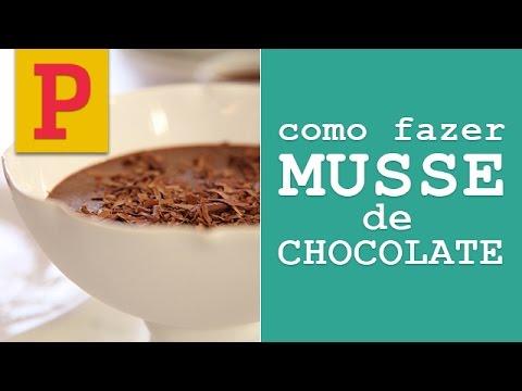 Como fazer musse de chocolate youtube for Como criar caracoles de jardin