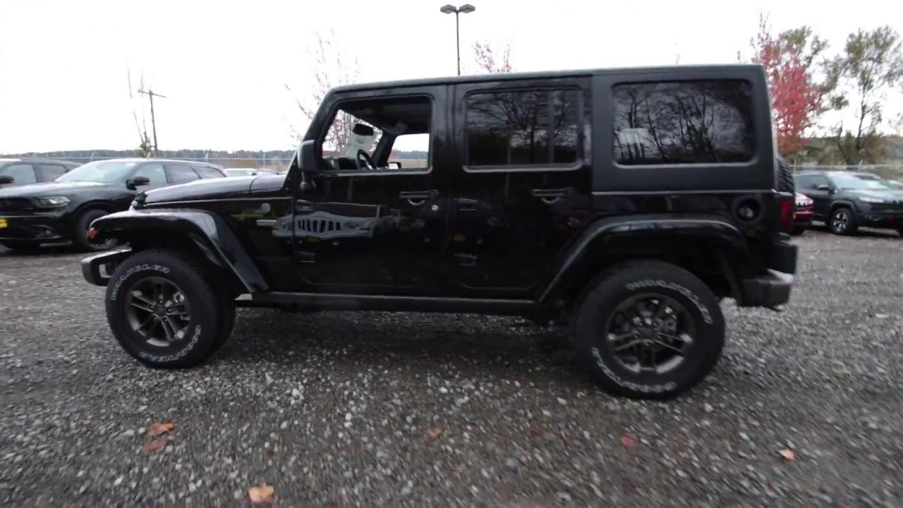 2017 jeep wrangler unlimited 75th edition black. Black Bedroom Furniture Sets. Home Design Ideas