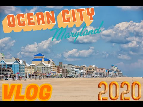 WE WENT TO OCEAN CITY MARYLAND!! (Vlog)