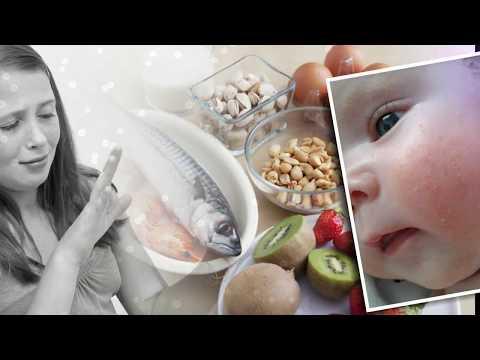 Диета при аллергии у взрослых детей и грудничков