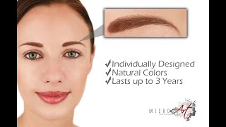 MicroArt™ Semi Permanent Makeup - Eliminates side effects of Permanent Makeup Thumbnail