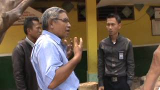 Anggota Dewan Komisi X DPRI-RI  Meninjau Gedung Sekolah Roboh SDN 04 Mangunjaya Tambun Selatan