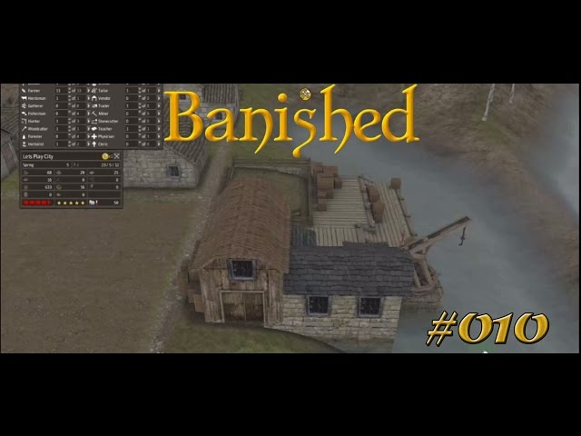 Let's Play Banished | Probleme und noch mehr Probleme | Folge #010