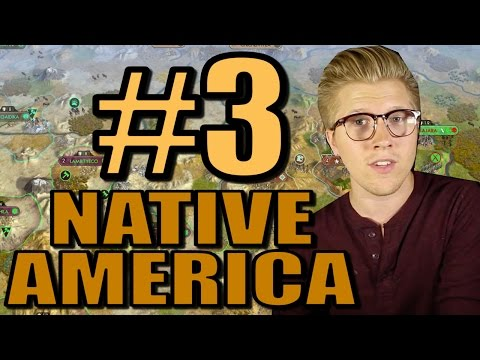 Civ 5: Brave New World Gameplay - Native America Mods - Part 3 [AI Only]