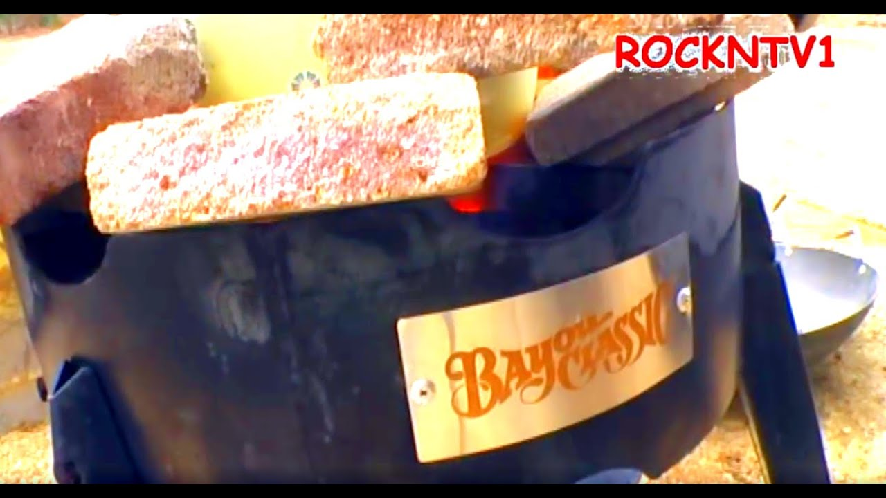 Good BAYOU CLASSIC COOKER Sp10   YouTube