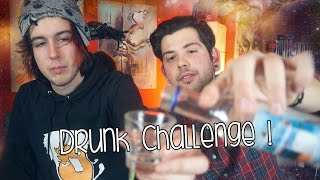 The Drunk Challenge! | Lynx & Noz