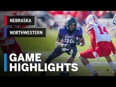 Highlights: Nebraska Cornhuskers vs. Northwestern Wildcats | Big Ten Football
