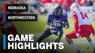 Highlights: Nebraska Cornhuskers vs. Northwestern Wildcats | Big Ten Football