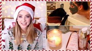 My Festive Pamper Routine | Zoella