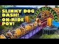 Slinky Dog Dash Roller Coaster Onride POV Walt Disney World Hollywood Studios Toy Story Land