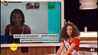 👑ALICIA AYLIES: Miss France 2017: Moment d'émotion sur France Ô.👑