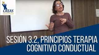 Sesión 3.2 Principios Terapia Cognitivo Conductual