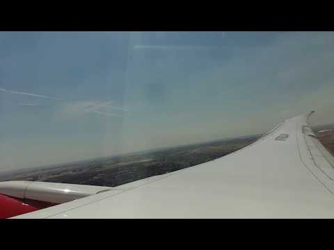 Takeoff from Madrid to Bogota with B787 Avianca Colombia