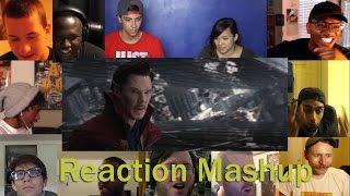 Doctor Strange Official Trailer 2 Comic Con REACTION MASHUP