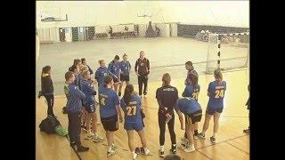 Тренування жіночої гандбольної збірної України в Конча-Заспі