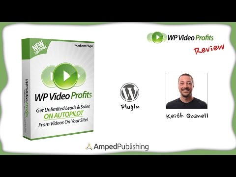 WP Video Profits Review - Wordpress Video Overlay Plugin