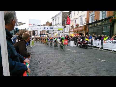 Bike races 24th July 2015  in Beverley Town Centre, East Yorkshire, England