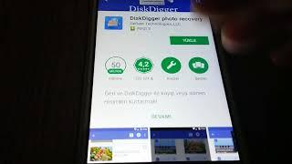 Telefondan Silinen Fotoğrafları Geri Getirme (Android-İphone) [ROOTSUZ]