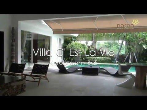 Villa C Est La Vie In Kerobokan Bali Youtube