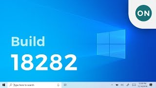 Light Start Menu, Window Snip and more in Windows 10 Build 18282