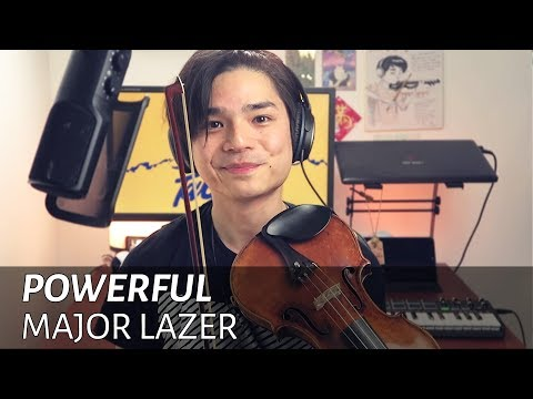 Major Lazer - Powerful (feat. Ellie Goulding & Tarrus Riley) [Violin Cover] 【Julien Ando】