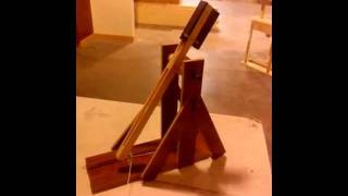 Scratch Built Trebuchet