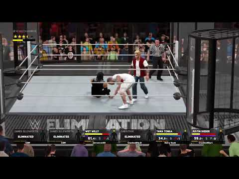 THE FUNNIEST ONLINE ELIMINATION CHAMBER MATCH OF ALL TIME - WWE 2K17 Online Funny Moments