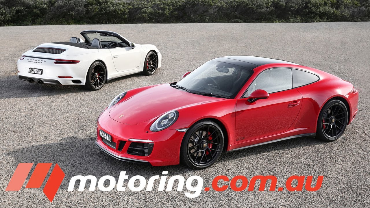 2017 Porsche 911 GTS Review | motoring.com.au - Dauer: 4 Minuten, 12 Sekunden
