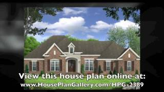 Small French Country Homes By House Plan Gallery