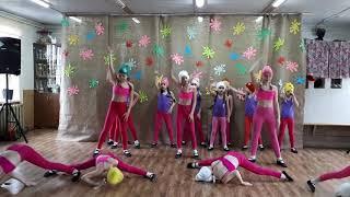 """Танцевальный коллектив """"Фантазия """"-номер """"Надоело быть маленькими-миленькими"""""""