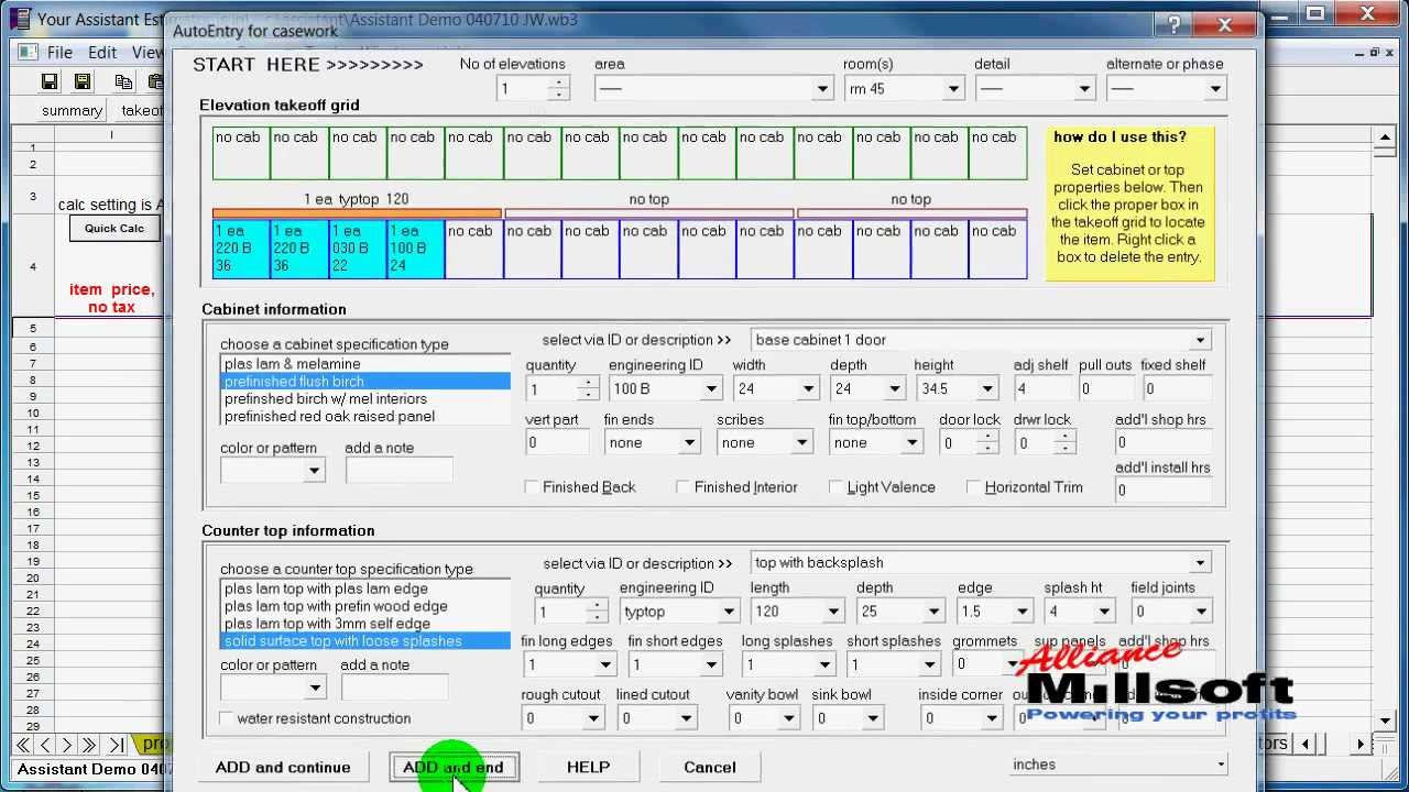 intro to cabinet and millwork estimating software