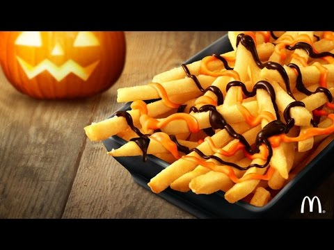 McDonald's Chocolate Pumpkin Spice Fries Review (Japan) - CarBS