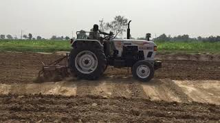 Presenting #India's favorite #tractor- #Eicher333 with #Cultivator  Share videos of your #Ume