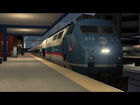 Train Simulator NY - NH Scenario Pack 1 : Metro North P32 AC-DM - 6 : Diesels to Danbury