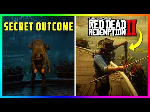 What Happens To This Man After You Throw Him In The Swamp In Red Dead Redemption 2? (SECRET Outcome) thumbnail