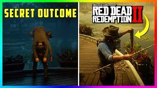 What Happens To This Man After You Throw Him In The Swamp In Red Dead Redemption 2? (SECRET Outcome)