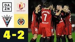Wieder Favoriten-Schreck! Mirandes im Halbfinale: Mirandes - Villarreal CF 4:2 | Copa del Rey | DAZN