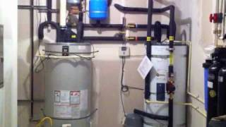 Solar Water Heating System closed loop glycol