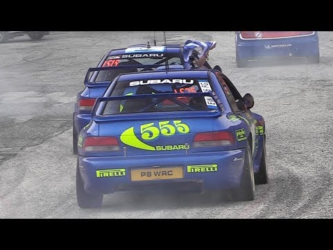 Colin McRae Tribute & Champions Parade + Show at RallyLegend 2017 - Loeb, Solberg, Ogier & More!