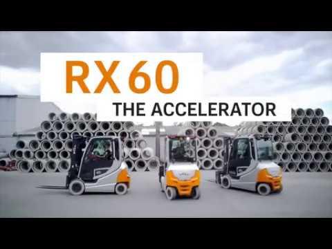Электрический вилочный погрузчик STILL RX60