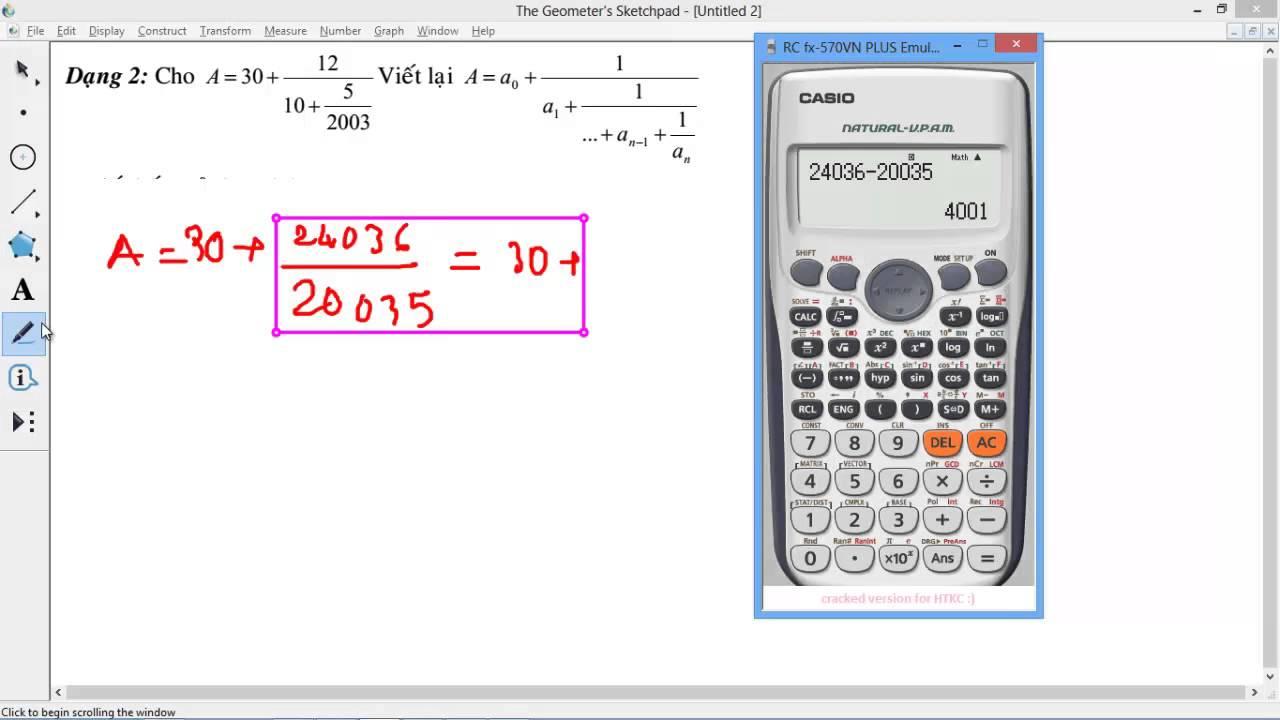 [CHUYÊN ĐỀ CASIO] Chương 3 Liên phân số. [CỰC HAY] Kỹ năng giải toán liên phân số quá bá đạo cơ mà